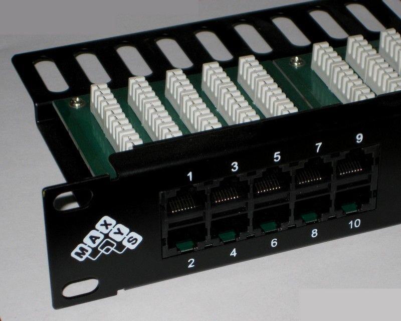 Патч-панель телефонная 19, 1U, 50 портов RJ45 8p-6c, категория 3, KRO
